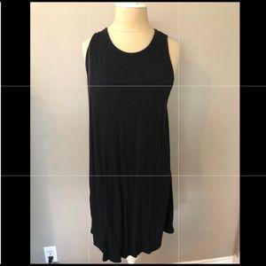 Lou & Grey black dress with back detail EUC